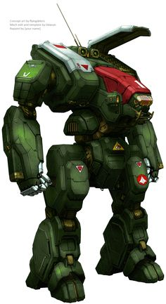 MWO Archer repainted as Destroid Spartan by BishopSteiner.deviantart.com on @DeviantArt
