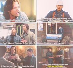 Supernatural logic. obviously people come on.