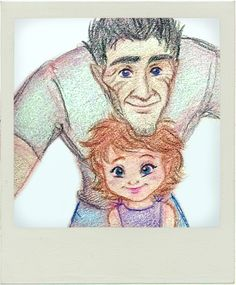 Here's Human Daddy Bog King and his little girl, taking a wefie with a Polaroid camera cos Bog's old school that way. I always imagined Bog and Marianne. Look into the lens, darling Fan Anime, Anime Art, Strange Magic Movie, All Animated Movies, Cute Paintings, Make Believe, Disney And Dreamworks, Character Design, Princess Zelda