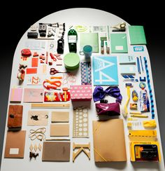 I just like the way this looks!  {EAV_BLOG_VER:b84a0fa3b3854290} Things Organized Neatly is a cool web site that is perfect for the ana!-retentive tendencies shared by graphic designers!