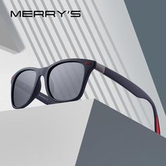 ee796db03c4 Merry S Design Men Women Retro Rivet Polarized Sunglasses 100% Uv  Protection S 8508