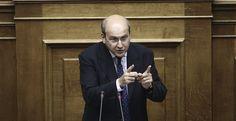 Χατζηδάκης: Η κυβέρνηση νοιάζεται πρωτίστως για την πολιτική της επιβίωση