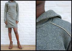 stunning handmade sweater dress