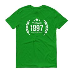 Men's Vintage 1997 Aged to perfection T-shirt - 1997 birthday gift ideas - 20th birthday