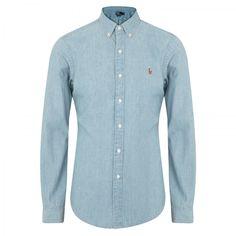 POLO RALPH LAUREN Cotton Chambray Shirt
