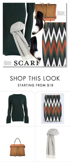 """scarfs"" by paculi ❤ liked on Polyvore featuring Agnona"