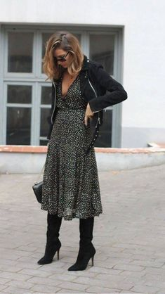 dressy boots with dresses