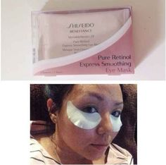 Shiseido Pure Retinol Express Smoothing Eye Mask