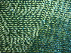 Layered Sequins on Silk Chiffon