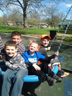 Our boys having fun.