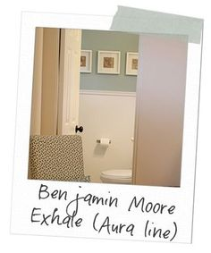 Paint and chair rail with bathroom Paint Color -- I like a LOT