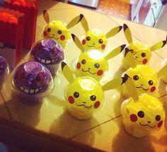 #pikachu #gengar #party #partyfavors #pokemon #candies #cute #kawaii