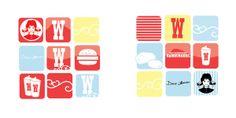 Wendy's Branding by Kenny Hopper, via Behance