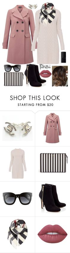"""""""Patrizzia02.01.2018a"""" by patrizzia on Polyvore featuring Chanel, Miss Selfridge, 'S MaxMara, Henri Bendel, Gucci, Lipsy, Burberry, Lime Crime, NARS Cosmetics and patrizziapolyvore"""