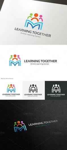 Learning together by Super Pig Shop on @creativemarket