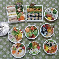 Miniature lunch box