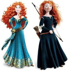 Merida, Brave's hero, gets a Disney makeover. Petition to let Disney know that our girl's hero's don't need to look sexy for you. Fuck Disney, I'm pissed. Brave Merida, Merida Disney, Disney Pixar, Walt Disney, Disney Frozen, Rebelle Disney, Brave Disney Princess, Disneyland Princess, Robes Disney