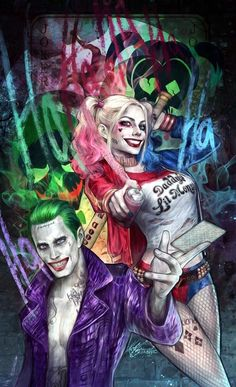 He´s my Puddin´ — Just a Picture of my two love birds Harley Quinn Et Le Joker, Harley And Joker Love, Harley Quinn Drawing, Joker Images, Joker Pics, Joker Art, Joker Cartoon, Cartoon Art, Joker Wallpapers