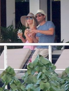 Pin for Later: Jet Set With the Best Celebrity Vacations  Julianne Hough and then-boyfriend Ryan Seacrest vacationed together in St. Barts during a January 2013 getaway.