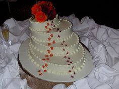 Clemson/Carolina Wedding cake