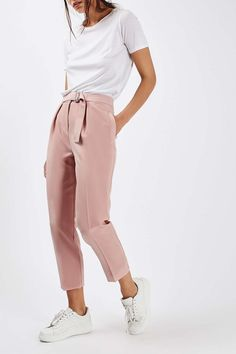 Utility Peg Trousers - Trousers & Leggings - Clothing