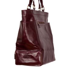 "Sherry F (Diamond & Jewellery Professional): ""Fantastic bags! Used my leather tote as carry on! Kept me organized!"""