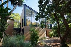 Atelier Du Pont designed an environment friendly holiday home in Cap Ferret - CAANdesign Cabinet D Architecture, Minimal Architecture, Architecture Design, Forest Cabin, Bordeaux France, Landscape Design, Swimming Pools, Exterior, House Design