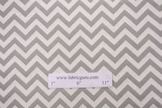 Premier Prints Zig Zag - Twill Printed Cotton Drapery Fabric in Storm $7.48 per yard