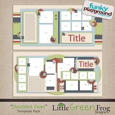 10 plus photos double page scrapbook layouts #scrapbooking # Pinterest++ for iPad #