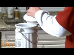 Recycle Food Scraps with the Kitchen Compost Pail  $35.99