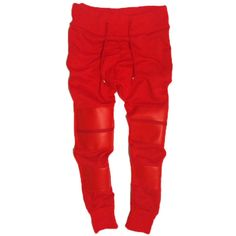 Red Rum Pants A$ID Clothing ($100) ❤ liked on Polyvore featuring pants