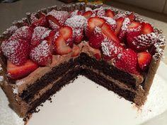 Lorraine Pascal's chocolate layer cake recipe