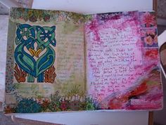 sketchbook pages - click link for tons more photos