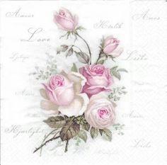 Mijn favoriete vintage rozenservet