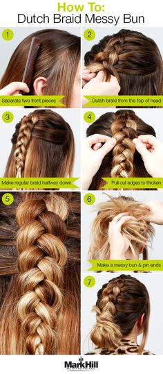 Started with a braid, ended with a bun – check out how to write a  beautiful hair story with this how-to.