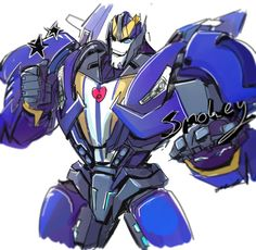 Transformers Prime: Smokescreen (autobot)
