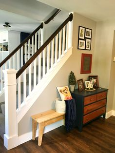 opening up staircase #DIY #remodel #homeimprovement