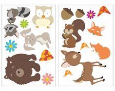 Das 'Lustige Waldtiere' Wandtattooset besteht aus verschiedenen Motiven. Die süßen Wandtattoos sind bestens geeignet um die Wände im Baby oder Kinderzimmer zu dekorieren. <br> <br> Die Wandtattoos ...