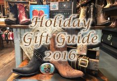 LOOKING FOR THE PERFECT GIFT? Boot Star's Holiday Gift Guide is full of our unique collection of American made goods that are sure to please everyone on your shopping list.It's a fact that you can never have too many pairs of boots! Find classic and modern styles from Old Gringo, Liberty Black, Stallion and Rios of Mercedes.
