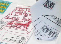 Caren Garfen Textile Artist – Don't make a meal of it (detail) 2011