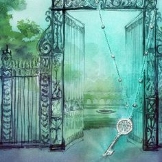 .@tiffanyandco   A sketch for our new Fifth Ave windows inspired by Central Park   Webstagram - the best Instagram viewer