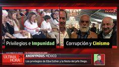 """Los privilegios de Elba Esther """"La Maestra"""" y la fiesta del jefe Diego -..."""