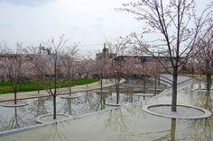さくら広場 /安藤忠雄氏のランドスケープ Sakura Garden Kadoma, Tadao Ando