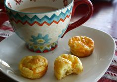 Three Cheese Breakfast Puffs (low carb, keto) | 24/7 Low Carb Diner -- 4 eggs 1/4 cup cottage cheese 1/4 cup parmesan cheese 2 oz shredded sharp cheddar cheese