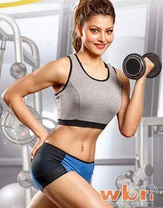 Urvashi's fitness fad !