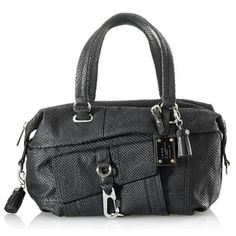 "Spotted while shopping on Poshmark: ""LAMB Wright Lunette Black Leather Satchel""! #poshmark #fashion #shopping #style #L.A.M.B. #Handbags"