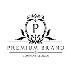 Boutique logo,hotel logo,luxury brand logo,vector logo template