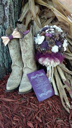 Pinecone Wedding Decorations, Cowboy Boots, Feathers, Fashion, Moda, La Mode, Cowboy Boot, Fasion, Feather