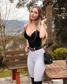 Sexy Girls for You! Sexy Outfits, Sexy Dresses, Casual Outfits, Summer Outfits, Cute Outfits, Fashion Outfits, Jean Sexy, Girl Fashion, Womens Fashion