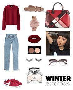 Designer Clothes, Shoes & Bags for Women Burberry, Gucci, Nike Cortez, Uniqlo, Lime Crime, Lacoste, Polyvore Fashion, Michael Kors, Clothing